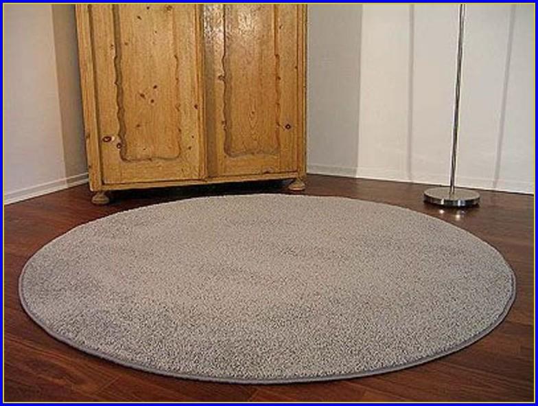 Teppich Rund 160 Grün